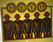 DEVO band energy dome vintage retro tshirt transfer print new, NOS