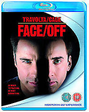 Face/Off (Blu-ray, 2007) J.TRAVOLTA & NICOLAS CAGE ( BRAND NEW & SEALED )