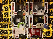"HOT TOPIC MYSTERY HORROR FUNKO POPS 3.75"" POP! Vinyl Figures NEW SET OF FOUR"