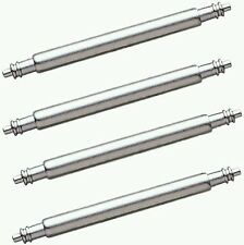 4 x 18mm  Stainless Steel  Spring Bars, watch Pins, lugs.18mm. FREE POST..⌚