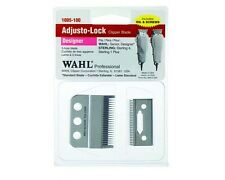 WAHL 3 HOLE CLIPPER BLADES 1005-100, Complete Replacement Blade Set, Made in US.