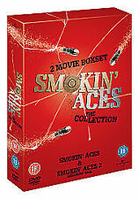SMOKIN / SMOKING ACES - THE MOVIES FILMS 1 & 2 DVD BRAND NEW