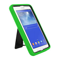 Green 2in1 Hybrid Case Skin Cover For Samsung Galaxy Tab E Lite 7.0 / 3 7""