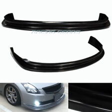 For 07-09 Nissan Altima Sedan JDM Polyurethane PU Front Lower Bumper Spoiler Lip