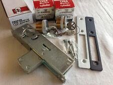 Glass Narrow Stile Door Double Cylinder Kwikset Deadlock Long Throw Bolt
