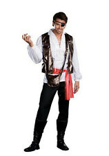 Dreamgirl Captain One-Eyed Willy Pirate Adult Mens Costume Size Medium