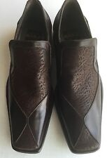 ALDO BRUE MEN'S BROWN SHOES US SZ 8,5 MADE IN ITALY NEW IN BOX