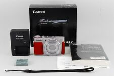 [TOP MINT] Canon Digital Camera PowerShot G9X Shilver w/ Box from Japan #200