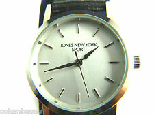 NEW JONES NEW YORK SPORT LADIES WATCH /SILVER TONE