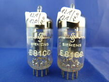 Matched Pair ECC801S Siemens NOS # TriMica # profes. double-getter-support (9165
