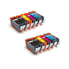 12 PK Ink Cartridges with GRAY + Chip for Canon PGI-225 CLI-226 MG6120 MG6220