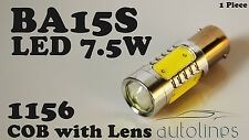 1x BA15S CREE LED 7.5W 1156 White Car Signal Reverse Break Tail Light Bulb Globe