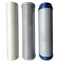 Reverse Osmosis RO Unit Filter Kit Set Including Sediment Carbon Block and GAC
