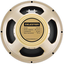 "BNIB CELESTION G12M 65 CREAMBACK GUITAR SPEAKER 12"" 8ohm 65 watts"