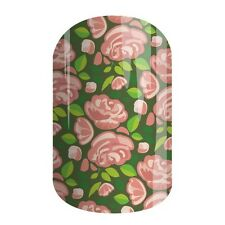 Half Sheet Jamberry Color Of The Year 'Greenery Garden' Nail Wrap Pre-Order