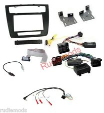 CTKBM08 BMW 1 Series E87 E88 Complete Double Din Stereo Fitting Kit Auto Aircon