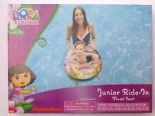 Inflatable Junior Ride-In Float Seat Dora The Explorer Boots Age 0-3+ NIP