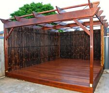 2.4M x 0.9M BAMBOO FENCE PANEL, PRIVACY SCREENS - IN STOCK NOW