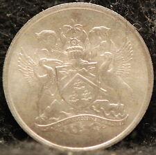 Trinidad & Tobago, 1966 10 Cents, Brilliant Uncirculated                     .gm