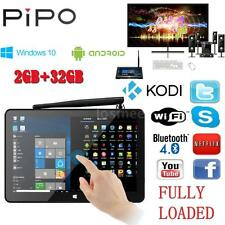 PIPO X9 Window 10 + Android 4.4 8.9inch Mini PC Dual OS TV BOX Intel Tablet F6C2