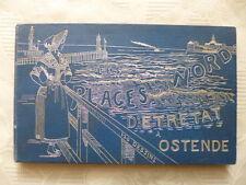 VINGT JOURS D'ETRETAT A OSTENDE. Haute-Normandie. Plages du Nord. 1890 illustré