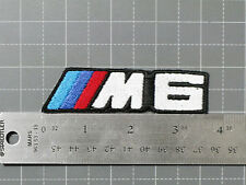 BMW M6 LOGO BADGE (M-POWER) CAR MOTORCYCLE BIKER RACING PATCH - MADE IN USA