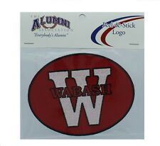 NEW! Wabash College Little Giants Peel & Stick Repositionable Embroidered Patch
