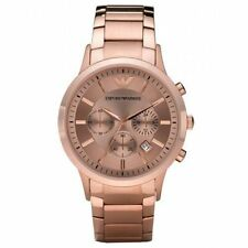 ARMANI AR2452 CLASSIC ROSE GOLD COLOUR WATCH
