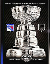 NY RANGERS vs LA KINGS STANLEY CUP NHL HOCKEY FINALS 2014 OFFICIAL GAME PROGRAM