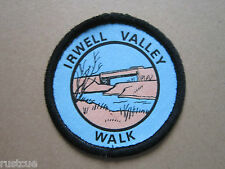 Irwell Valley Walk Walking Hiking Cloth Patch Badge