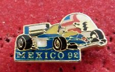 PIN'S F1 FORMULA ONE WILLIAMS GRAND PRIX DE MEXICO 92 CASQUE MANSELL NIGEL