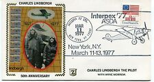 FFC 1977 First Flight Interpex '77 New York Charles Linderbergh Anne Morrow 50°