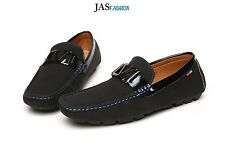 Mens Slip On Moccasin Boat Deck Shoes Driving Smart Casual Loafers Size 6-12
