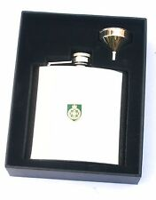 Royal Green Jackets Army Regiment Hip Flask Personalised FREE ENGRAVING BGK19