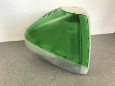 """Vintage Apple iMac M4984 Green 15"""" Computer OS X 9.2 1998 