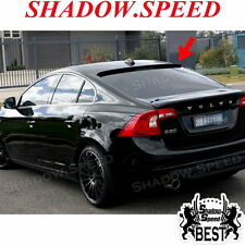 UNPAINTED B Type Rear Roof Spoiler Wing For VOLVO S60 T5 T6 2011-15 Sedan ☢