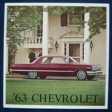 Prospekt brochure 1963 Chevrolet (USA)