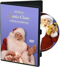 DVD: Making Santa Claus with Jack Johnston - Polymer Clay Art Doll Sculpting
