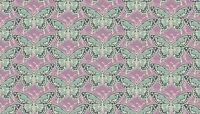 """Meadow Blue Butterflies Lilac 100% Cotton fabric Size 22 """"x 18"""" larger available"""