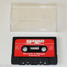THE LORDS OF MIDNIGHT C64 Beyond Challenging Software Commodore 64 Game Cassette