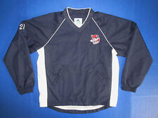 Lowell Spinners baseball pullover shirt jersey Boston Red Sox Minor League BV 21