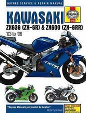 Haynes Manual 4742 - Kawasaki ZX6R/ZX636/ZX6RR (03 - 06) workshop/service/repair