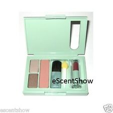 CLINIQUE EYESHADOW DOUBLE DATE - MOCHA PINK BLUSH - ALL HEART LIPSTICK PALETTE