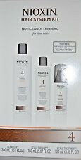 Nioxin System 4 Starter Kit Cleanser, Scalp Therapy & Scalp Treatment