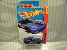 2015 HOTWHEELS ''HW RACE'' #131 = C6 CORVETTE = BLUE RACING  int.