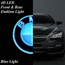 Blue 4D LED Car Badge Emblem Logo with Light fit for BMW 1 3 5 7 X1 X3 X4 X5 X6