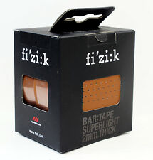Fizik Bar Tape  SUPERLIGHT Classic Touch Microtex 2mm Honey Brown