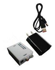WHI Digital Optical Coaxial Toslink RCA to Analog Audio Converter Adapter LUA