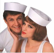 Sailor Hat Gob White Unisex Hen's Night Fancy Dress Costume Accessory