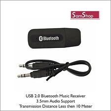 SamShop - Wireless USB Bluetooth Receiver Adapter Dongle / Home Car Speakers MP3